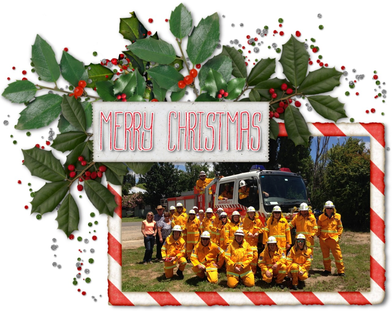 Berridale Christmas Photo