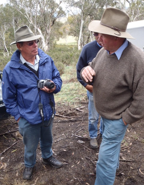 Scientist Phil Cheney and Barry Aitchison