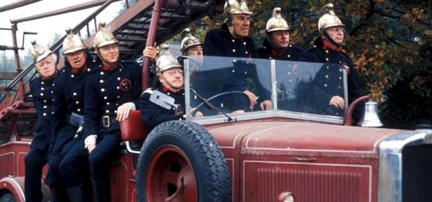 Don't panic: Volunteer fire fighters say minister compared them to Dad's Army