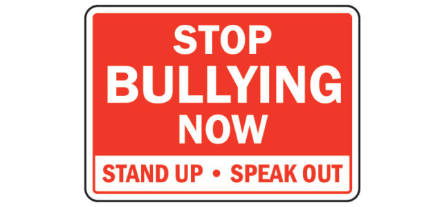 Have your say on bullying