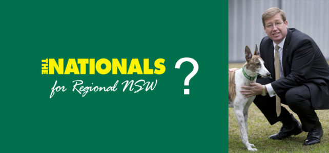 Are the Nationals really committed to Regional NSW?