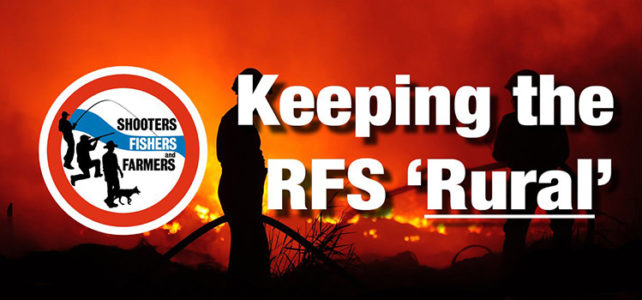 Keeping the RFS Rural
