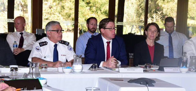 Emergency services leaders meet
