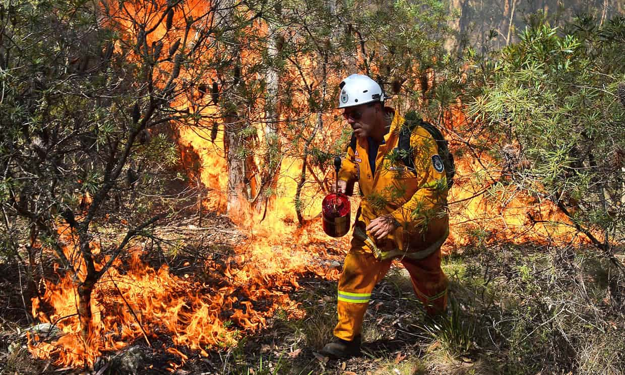 Burn-offs have almost no effect on bushfire risks, Tasmania study finds