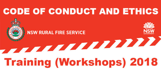 NSW RFS Code of Conduct and Ethics Training