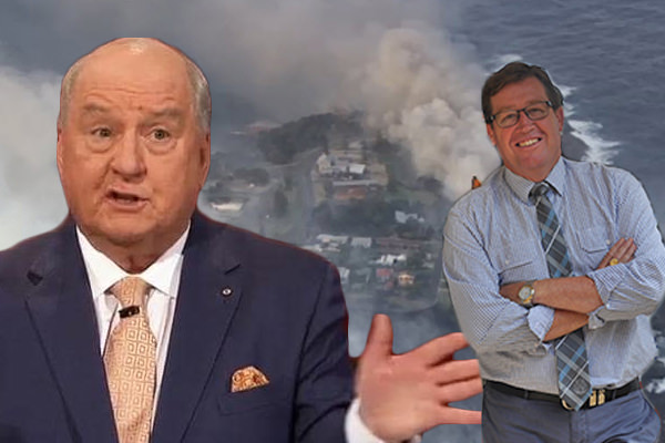 Alan Jones has torn NSW Emergency Services Minister Troy Grant to shreds over his response to the Tathra bushfire.