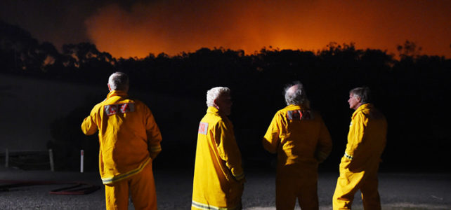 How do we stop volunteer emergency service workers quitting?