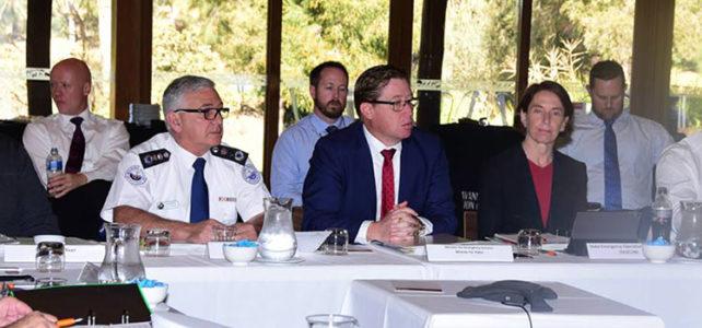 Emergency services leaders meet