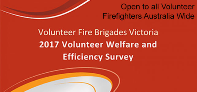 2017 Volunteer Welfare and Efficiency Survey Now Open