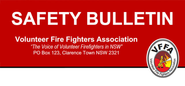 NSW RFS Volunteers at Risk of Prosecution without Support or Assistance