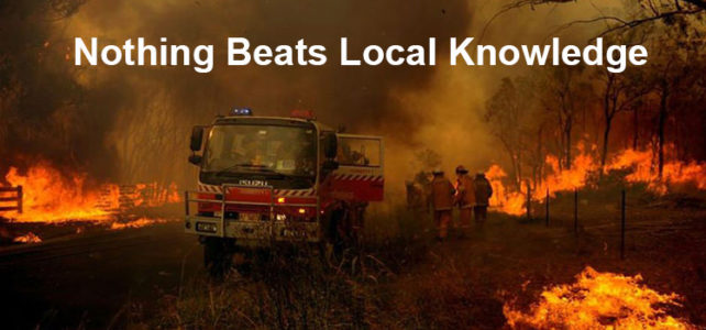What it takes to be a fire behaviour expert with the Rural Fire Service