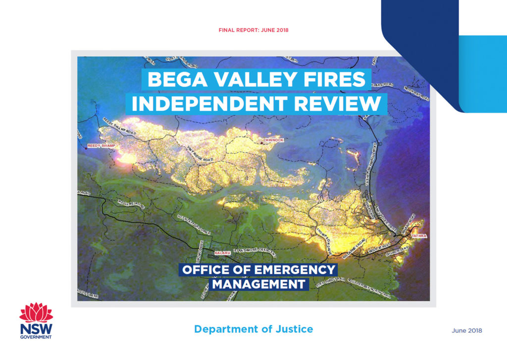 The Bega Valley Fire Independent Review