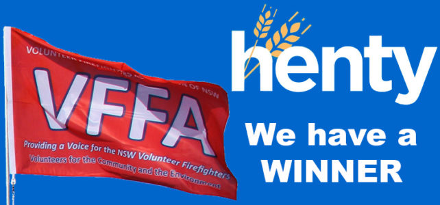 Winner Winner – A Henty Grinner