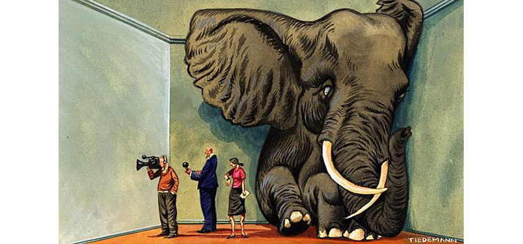 Artwork by John Tiedemann, illustrator and cartoonist