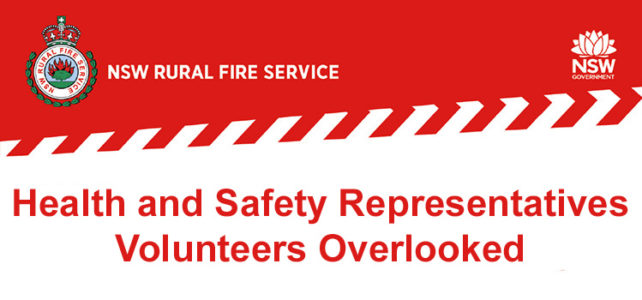 Health and Safety Representatives (HSRs) – Volunteers Overlooked
