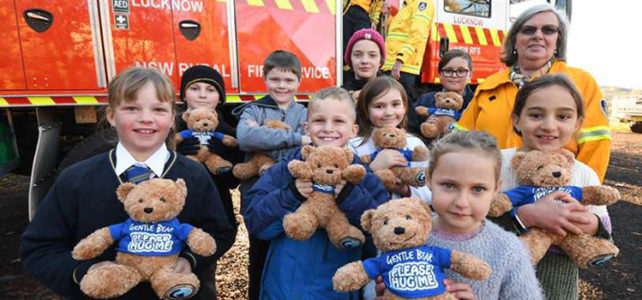 Lucknow Rural Fire Service to give comfort with Gentle Bears