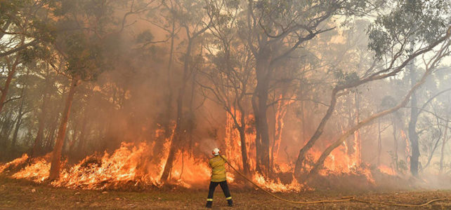 I am a volunteer firefighter. Yes, we 'want to be here', Scott Morrison – but there are limits!