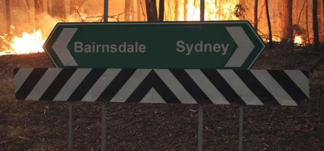Bairnsdale to Sydney