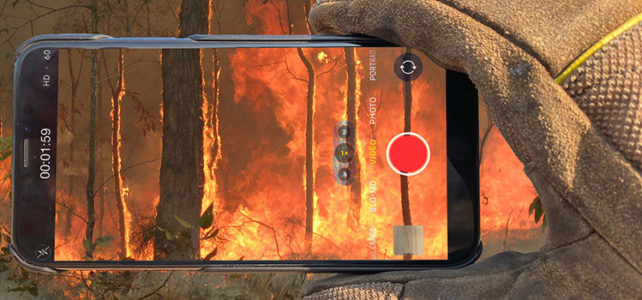 Ringside seat at bushfires has upped alarmist outcry