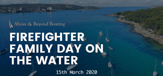 Firefighter family day on the water…