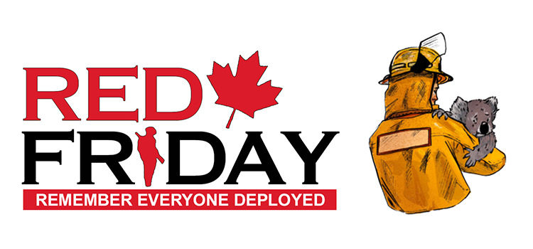 RED Friday Organization is stepping up to help