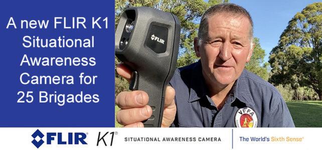 FLIR K1 Situational Awareness Camera's for 25 Brigades
