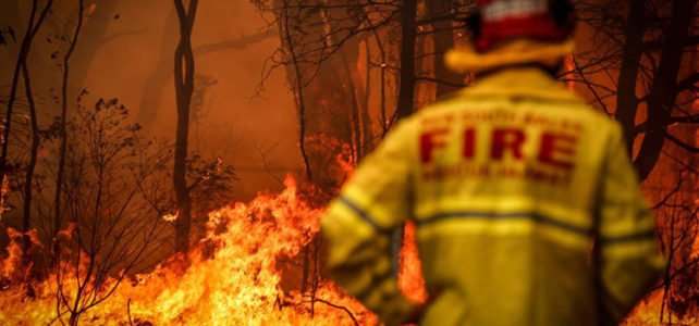 What saved Kurrajong Heights from the Gospers Mountain fire?