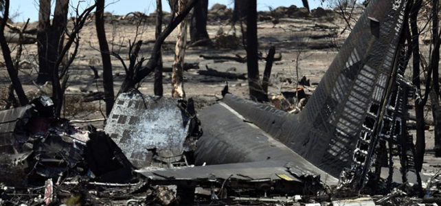 What really happened when the RFS Hercules firefighting plane crashed?