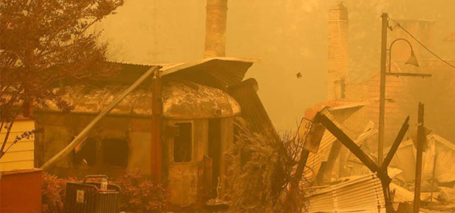 Cobargo: Clean up finished on bushfire destroyed main street
