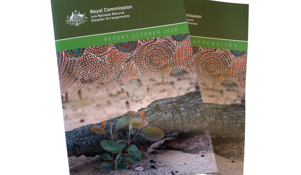 The Royal Commission into National Natural Disaster Arrangements Report